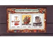 Estonian Sheet Thematic Postal Stamps