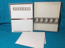 VINTAGE 1970's Hallmark Brown Owl Stationary Sheets Envelopes Set