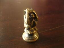 Bronze Miniatur Petschaft Affe nichts sehen (3 Affen)