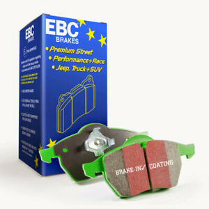 EBC Greenstuff Front Brake Pads for 2016-2017 Smart Fortwo 0.9L Turbo