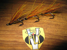3 V Fly Size 10 Ultimate RV Classic Willie Gunn Double Salmon Flies