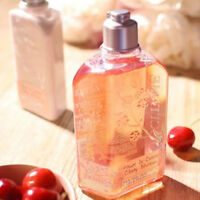L'Occitane Cherry Blossom Bath Shower Gel 250ml Natural Fresh Delicate FreePost