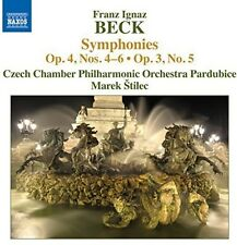 Syms Op. 4 4-6 - Beck / Czech Chamber Philharmonic Orch (2014, CD NEUF)