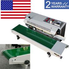 Pro Continuous Auto Sealing Machine Band Sealer Plastic Bag Film Automatic Fast