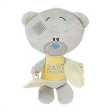 Peluches bär TINI TATTY TEDDY mit saugnäpfe BABY ON BRETT circa 17 cm