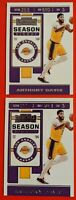 Anthony Davis 2019-20 Panini Contenders Basketball Season Ticket #7