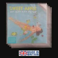 """100 LP Album 12"""" 450g Plastic Polythene Record Sleeves - Outer Vinyl Covers"""