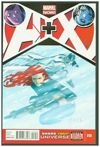 A+X #10 VF/NM Marvel Comics 2013 Avengers & X-Men Black Widow & FantomeX