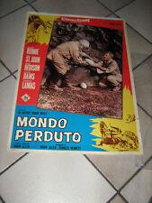 MONDO PERDUTO f. lamas, I. ALLEN,FOTOBUSTA,1 EDIZ