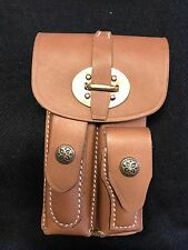 Leather Magazine Pouch for Dutch KNIL Luger