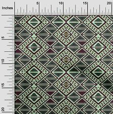 oneOone Geometric Flame Stitch Print Sewing Fabric By The Yard - FI-1025A_1