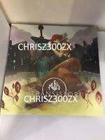 Transistor Vinyl Record Soundtrack Deluxe 2 LP White Milky Clear Standard LE