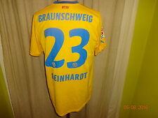 """Eintracht Braunschweig Puma Matchworn Trikot """"VW Bank"""" + Nr.23 Reinhardt Gr.M"""