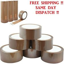 More details for brown buff parcel packaging packing tape carton sealing 2