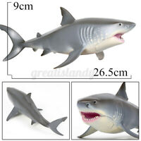 Great White Shark Animal Children Model Kids Xmas Toy Collector Decoration Gift