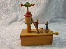 Spieluhr Spieldose Bewegende Vögel Holz # 768