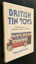 British Tin Toys A-Z of British Metal Toy Makers Fawdry 1990 Burnett U-Bilda