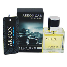 Areon Top Quality Luxury Car Perfume  Air Freshener - 50ML - Platinum