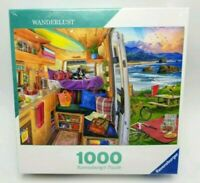 Ravensburger Wanderlust 1000 Piece Jigsaw Puzzle Rig Views Camping New Sealed