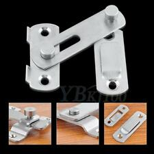 Stainless Steel Lock For Sliding Barn Wood Door Hardware Latch New DH