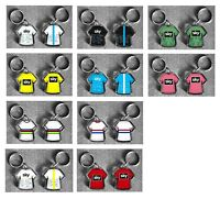 TEAM SKY t-shirt/jersey keyring cycling, Tour de France Vuelta Spain, Giro ITALY