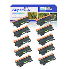 10x for Brother TN450 Toner Cartridge High Yield DCP-7060D DCP-7065DN Black