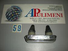55110000 FANALE LUCE TARGA (PLATE LIGHT) FIAT 850 SPORT 1100R 124 GIUNT PLASTICA