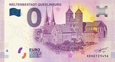 Billets Euro Schein Souvenir Touristique 2019 Welterbestadt Quedlinburg