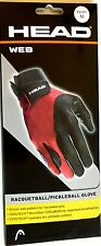 Head Web Racquetball Glove - Right Hand Medium (Rhmd) New