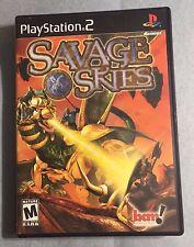 SAVAGE SKIES PlayStation 2 PS2  (Complete, 3pics) =USED