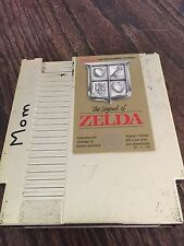 The Legend Of Zelda Nintendo NES Gold Cart Works NE3