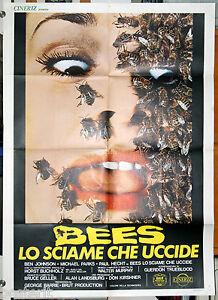 manifesto 2F film SAVAGE BEES LO SCIAME CHE UCCIDE Gretchen Corbett Bruce Geller