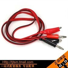 Banana Popular Multimeters Double Lead Cable Clip To Plug Test Cable Stitch