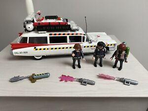 Playmobil Ghostbusters Car & 3 Figures