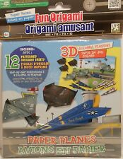 Origami Paper Planes Military F16 F35C B2 Airplane 3D Playmat Paper Arts Crafts
