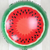 18-inch Watermelon Mylar Balloon Foil Balloons for Birthday Wedding Party Decor