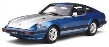 Datsun 280 ZX Turbo blue silver diecast model car OT316 Otto 1:18