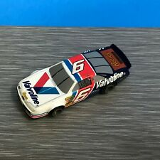 VINTAGE LIFE LIKE NASCAR #6 VALVOLINE REESE'S FORD SLOT CAR TESTED WORKS