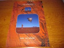 THE CRANBERRIES - BURY THE HATCHET - ORIGINAL 2000 2-SIDED UK PROMO POSTER