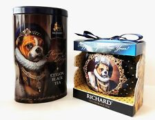 English Bulldog Richard tea the royal dogs Gift box Christmas toy LimitedEdition