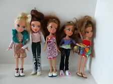5 x MGA Bratz Dolls with Shoes and Clothes