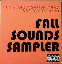 Interscope / Geffen / A&M Rap Fall Sounds Sampler PROMO Music CD Robin Thicke +