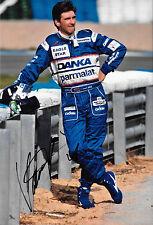 Damon Hill firmato 12x8, FRECCE-YAMAHA Ritratto Stagione GRAND PRIX 1997
