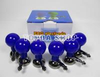 6pcs/set Kid ECG machine Chest electrode Suction ball For ECG EKG Cable 3.0/4.0