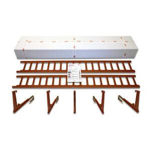 Heuel Schneefanggitter Schneefangsystem für Dachpfannen Dachziegel Komplett-Set