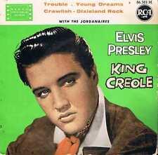 King Creole - Elvis Presley  (45 tours)
