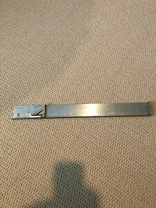 """HB Rouse Co. letterpress hand composing stick --20"""" Stainless Matching serial #"""