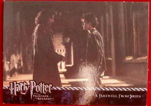 HARRY POTTER - PRISONER OF AZKABAN - Card #71 - Farewell From Sirius, CARDS INC