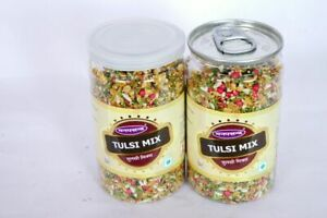 Indian Sugar Candy Coated Fennel Seeds TULSI Mix Saunf Mouth Freshener indian