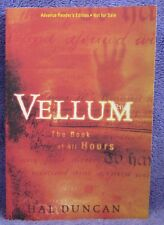 VELLUM Hal Duncan ARC Advance Reading Copy Pre 1ST EDITION 2006 Fantasy Gaiman